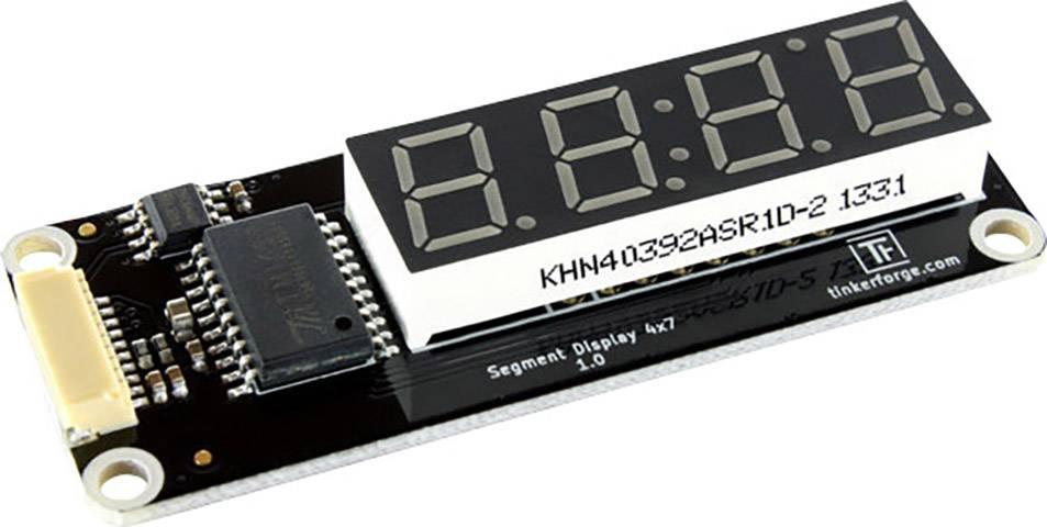 Modul se segmentovým displejem TinkerForge Segment Display 4x7 Bricklet 237