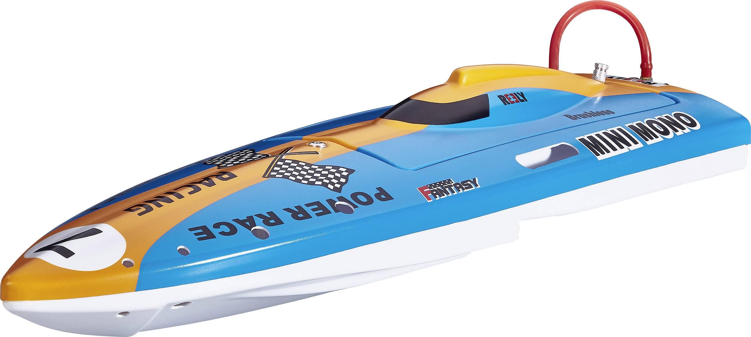 RC motorový čln Reely Mini Mono, RtR, 430 mm