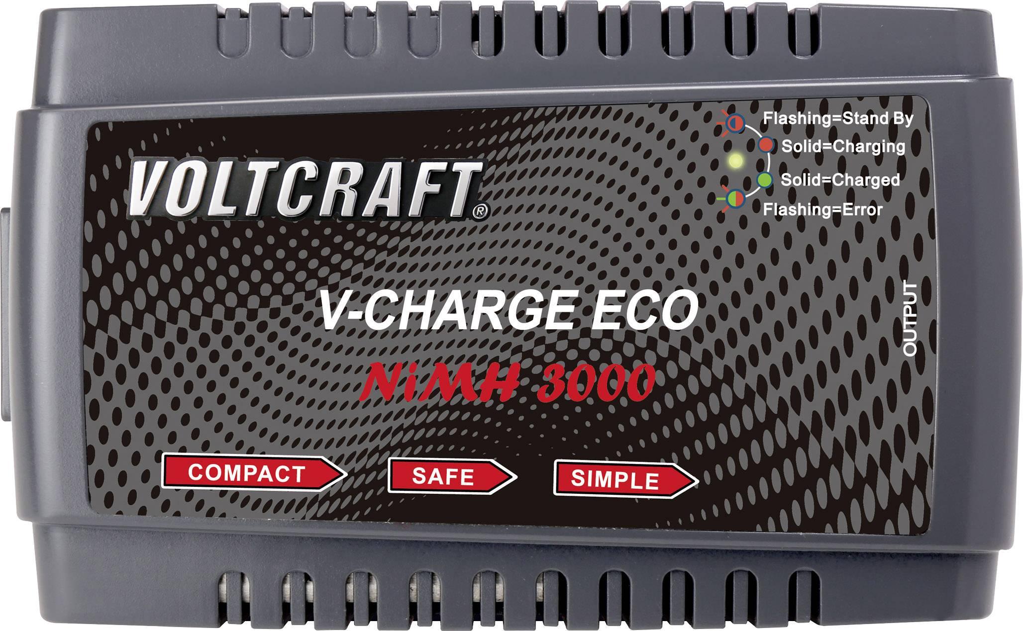 Modelářská nabíječka VOLTCRAFT V-Charge Eco NiMh 3000 1413030, 230 V, 3 A