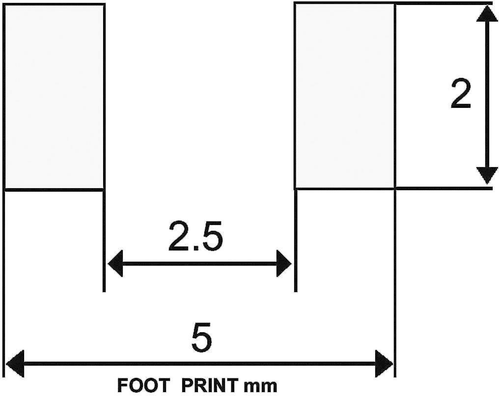 Schottkyho usmerňovacia dióda STMicroelectronics TMMBAT41, 100 mA, 100 V, MINIMELF SKLO