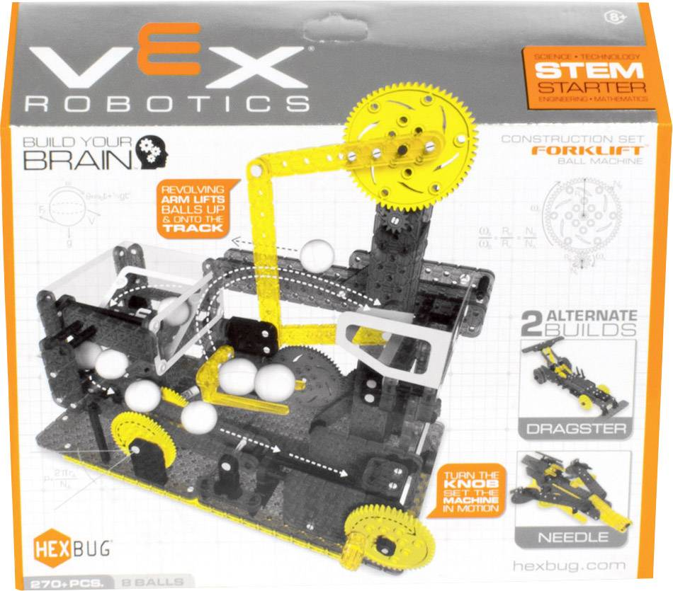 Stavebnica VEX Fork Lift Ball 406-4205, od 8 rokov