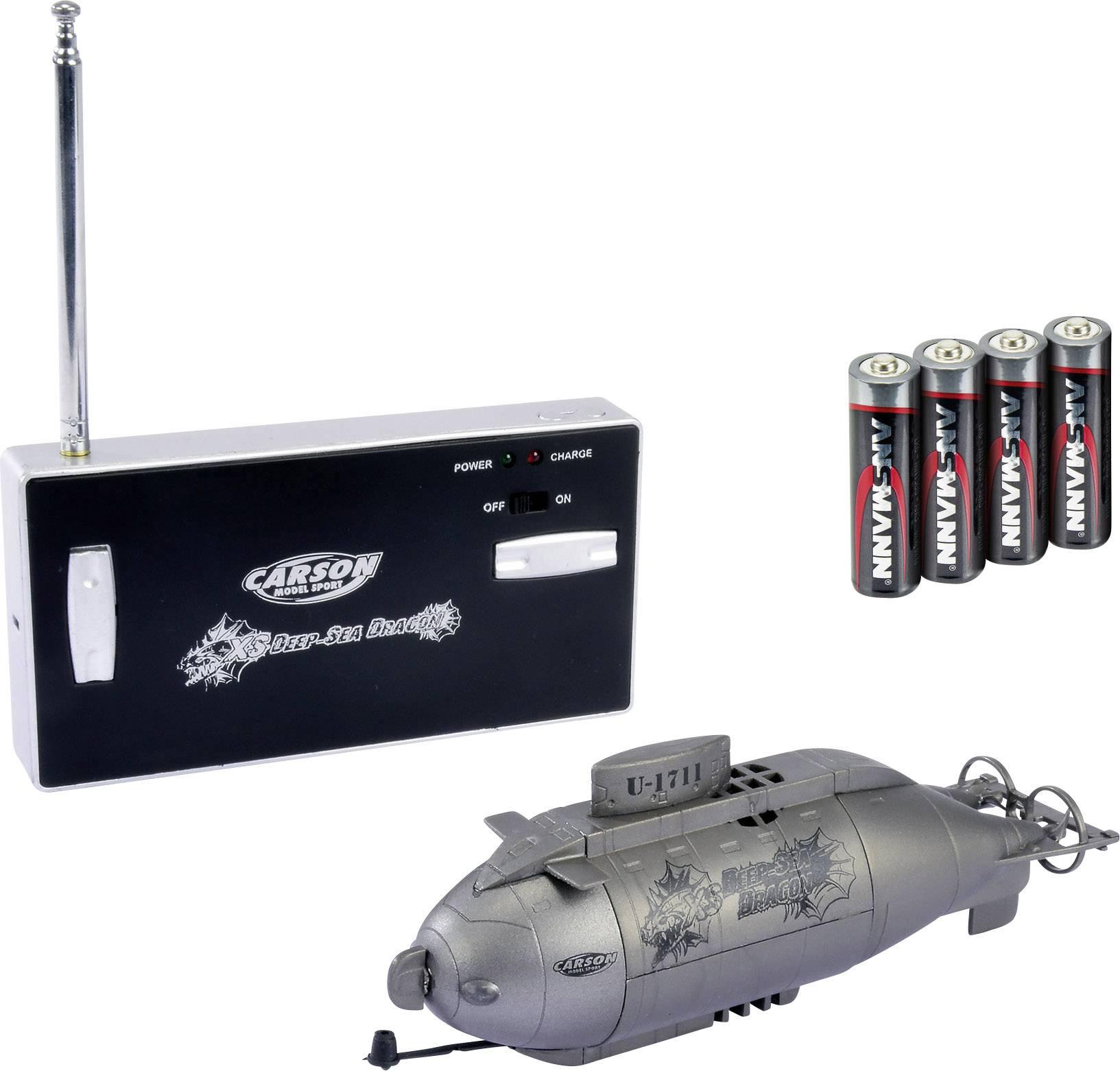 RC model ponorky pro začátečníky Carson RC Sport XS Deep Sea Dragon, 100% RtR