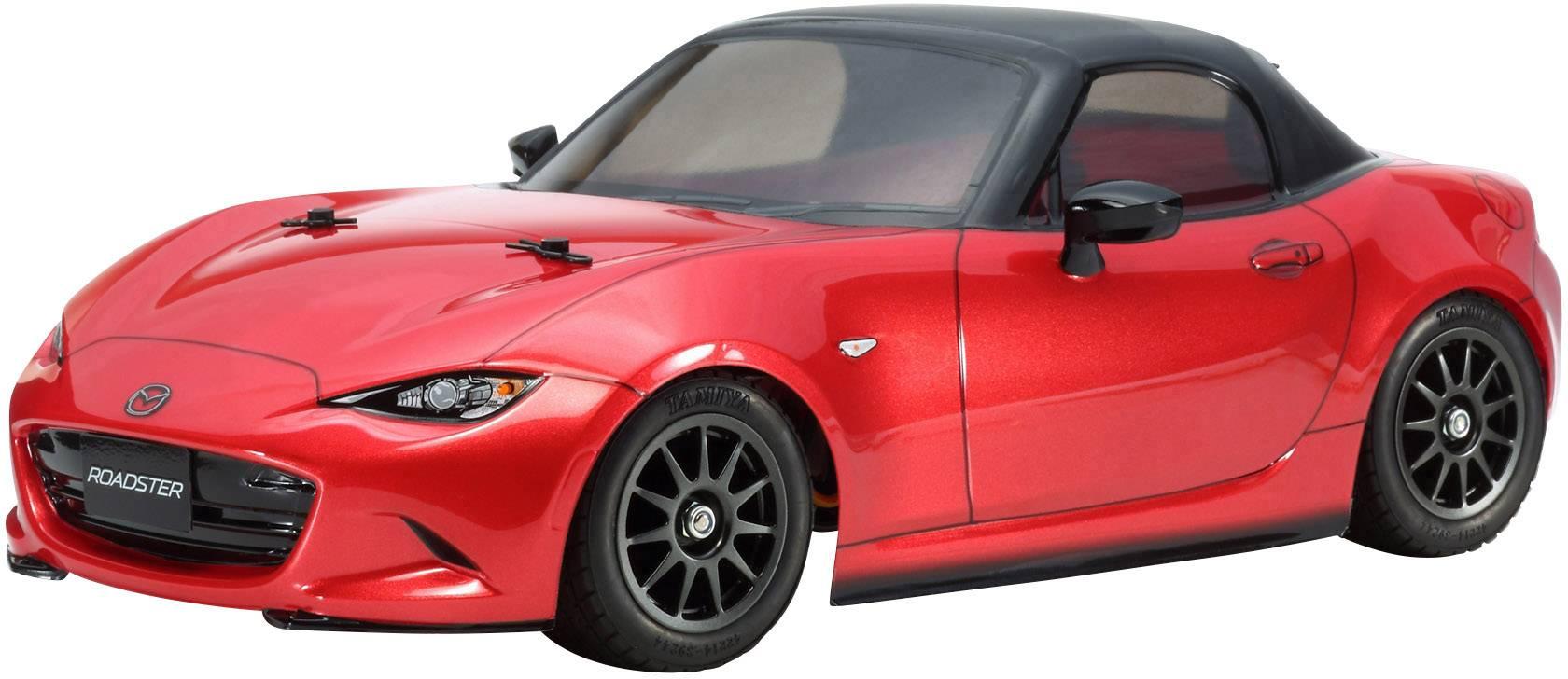 RC model auta Tamiya Mazda MX-5, 1:10, elektrický, predný 2WD (4x2), BS