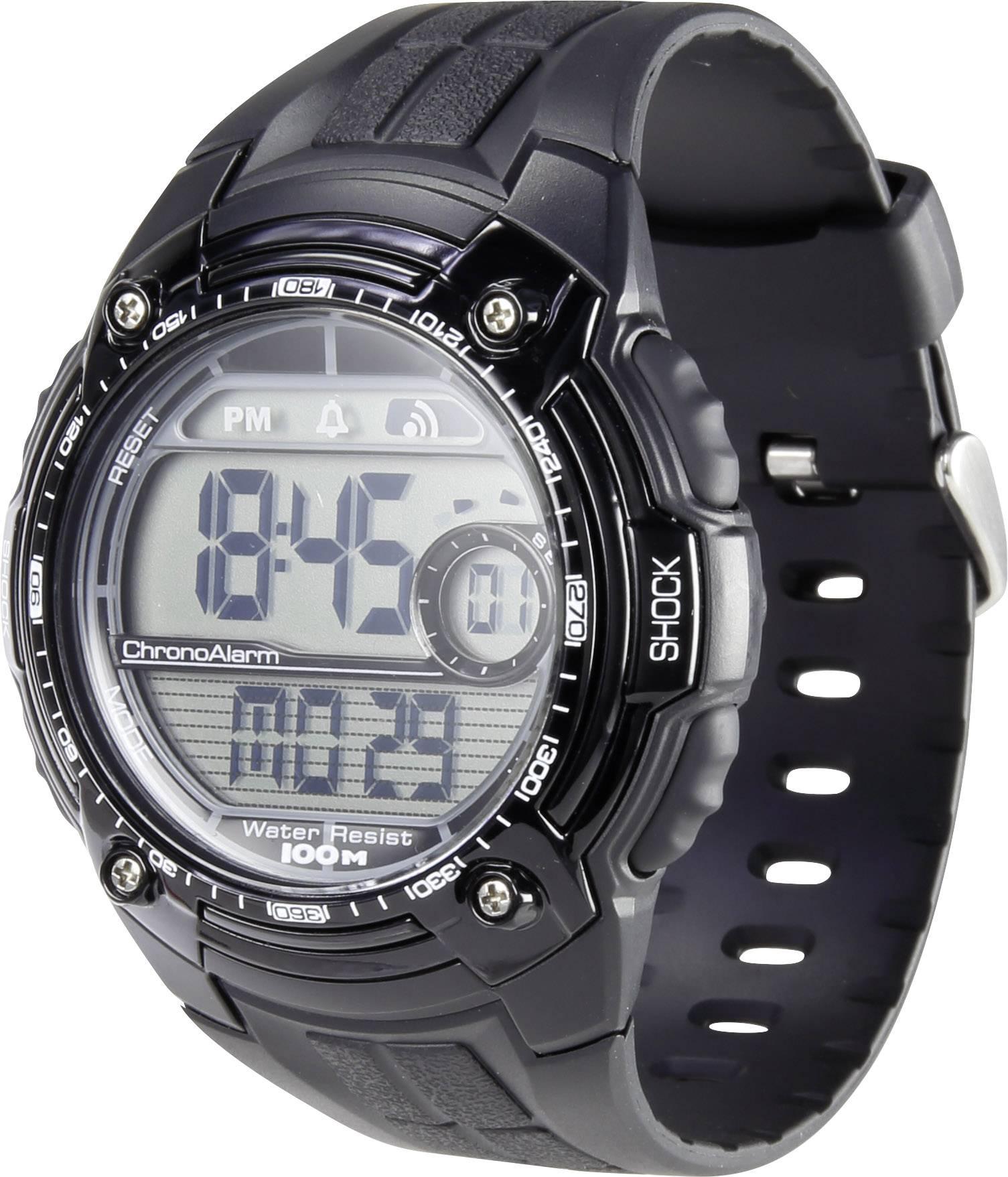 Náramkové hodinky Renkforce YP09426A, čierna