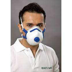 Respirátor proti jemnému prachu, s ventilem EKASTU Sekur 412 084, 5 ks