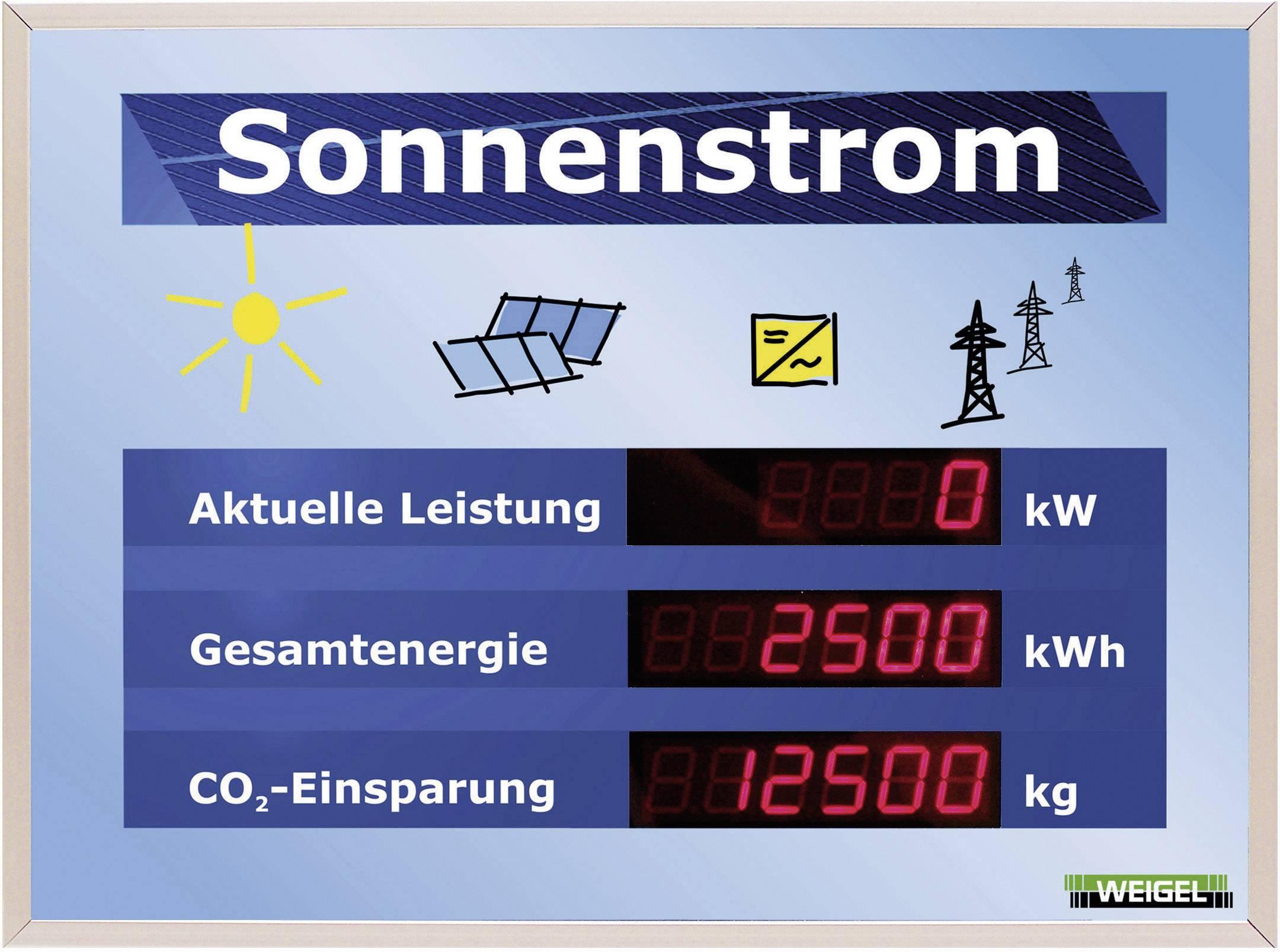 LED displej pre fotovoltaické systémy Weigel WGA330-19-41