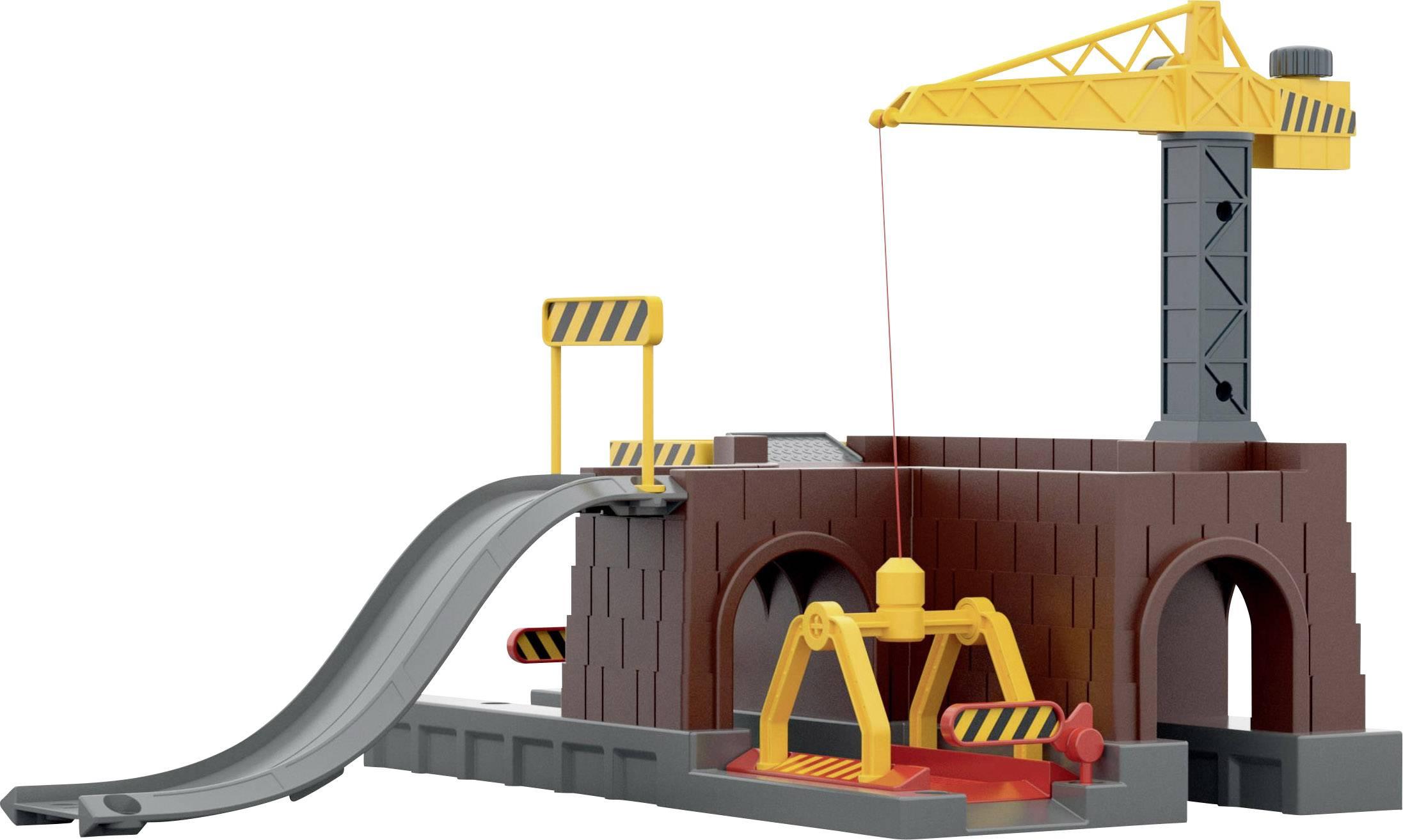 H0 model pre železnicu prekladisko tovaru s tunelom Märklin World 72211