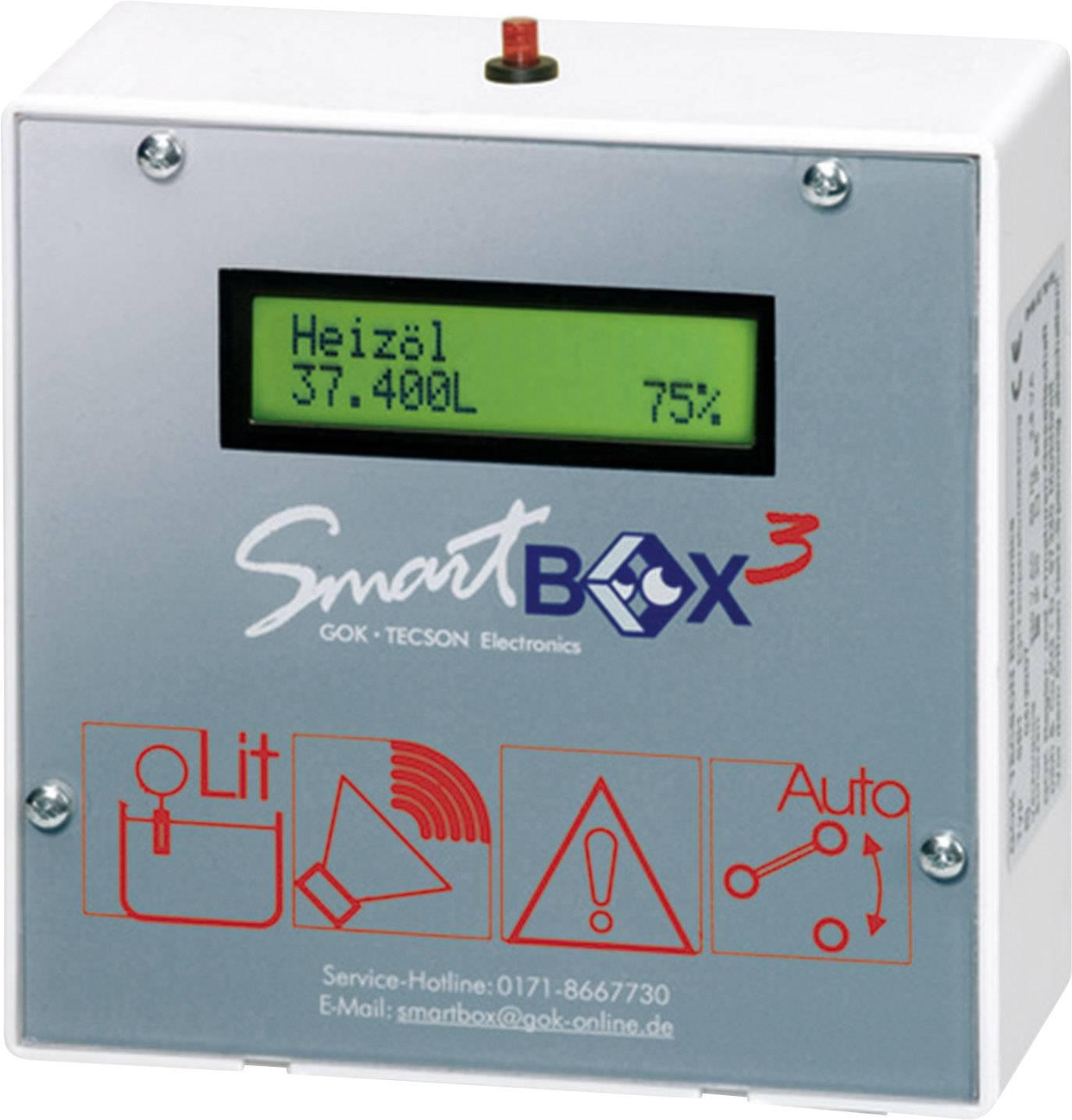 Elektronický ukazatel stavu hladiny SecuTech SmartBox® 3