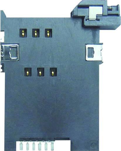 Zásuvka na kartu SIM Yamaichi, počet kontaktů: 6, stisk, 1 ks