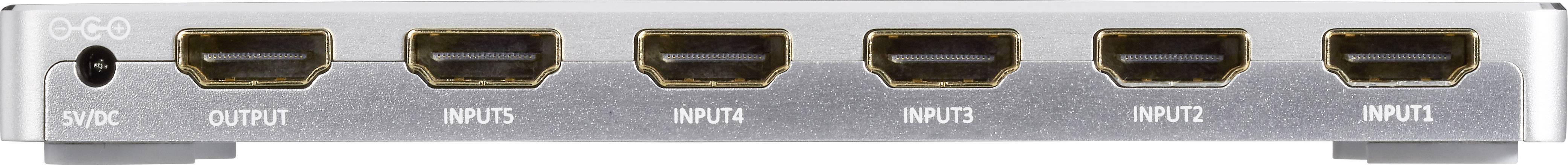 A/V a HDMI přepínače