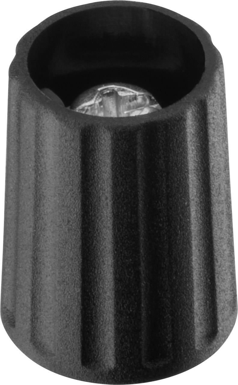 Otočný knoflík Ritel 26 10 30 3, (Ø x v) 10.1 mm x 13.7 mm, černá, 1 ks