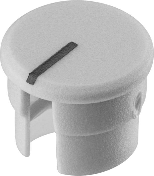 Krytka knoflíku s ukazatelem Ritel 30 10 11 1 10 mm, šedá, 1 ks