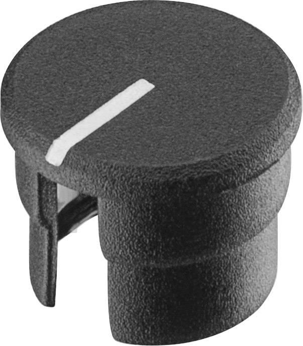 Krytka knoflíku s ukazatelem Ritel 30 10 11 3 10 mm, černá, 1 ks