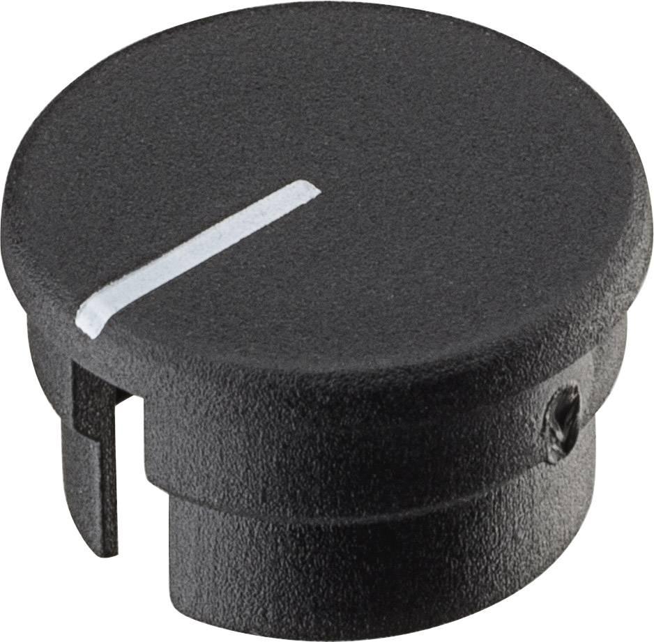 Krytka knoflíku s ukazatelem Ritel 30 15 11 3 12.5 mm, černá, 1 ks