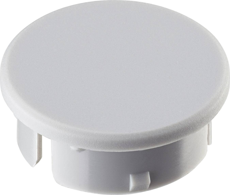 Krytka knoflíku Ritel 30 21 10 1 15.4 mm, šedá, 1 ks