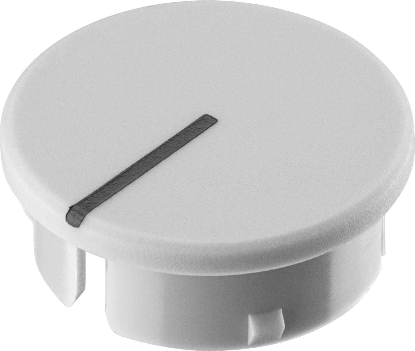 Krytka knoflíku s ukazatelem Ritel 30 21 11 1 15.4 mm, šedá, 1 ks