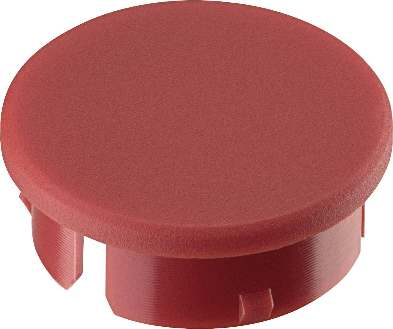 Krytka knoflíku Ritel 30 21 10 4 15.4 mm, červená, 1 ks