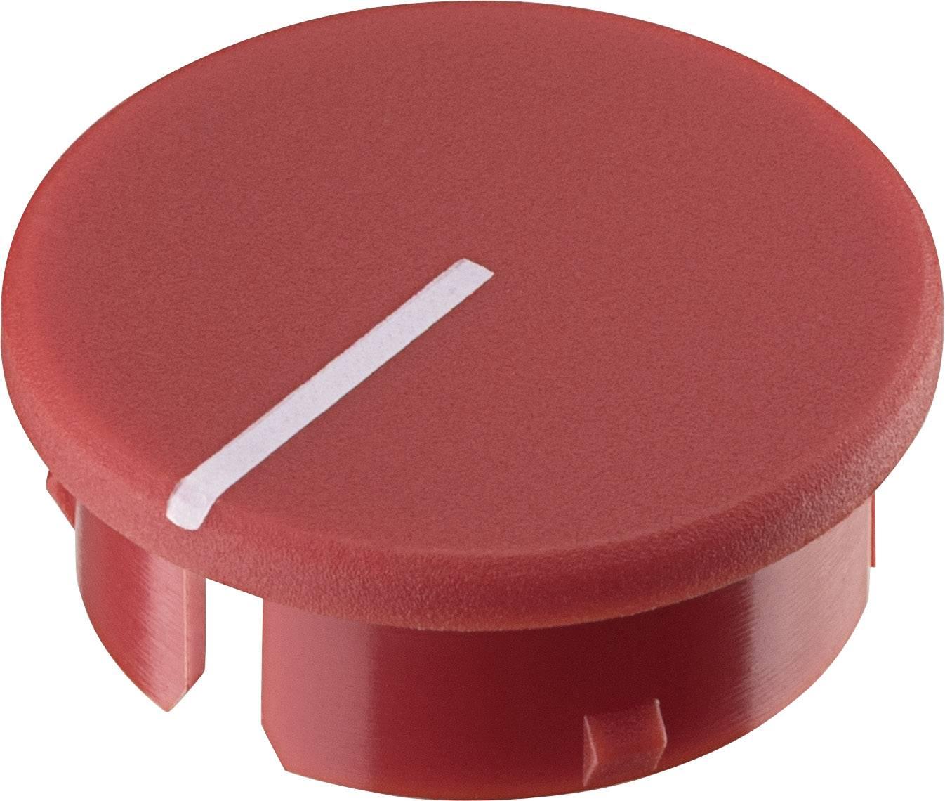 Krytka knoflíku s ukazatelem Ritel 30 21 11 4 15.4 mm, červená, 1 ks