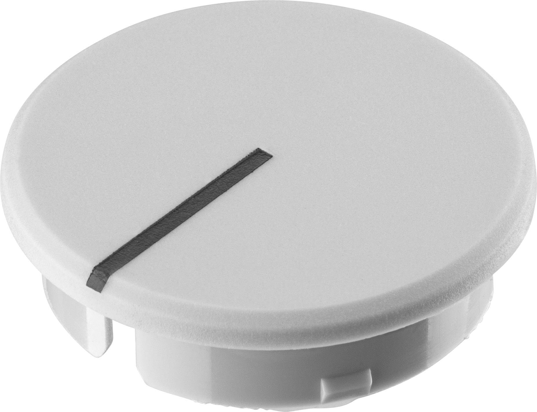 Krytka knoflíku s ukazatelem Ritel 30 28 11 1 21.6 mm, šedá, 1 ks