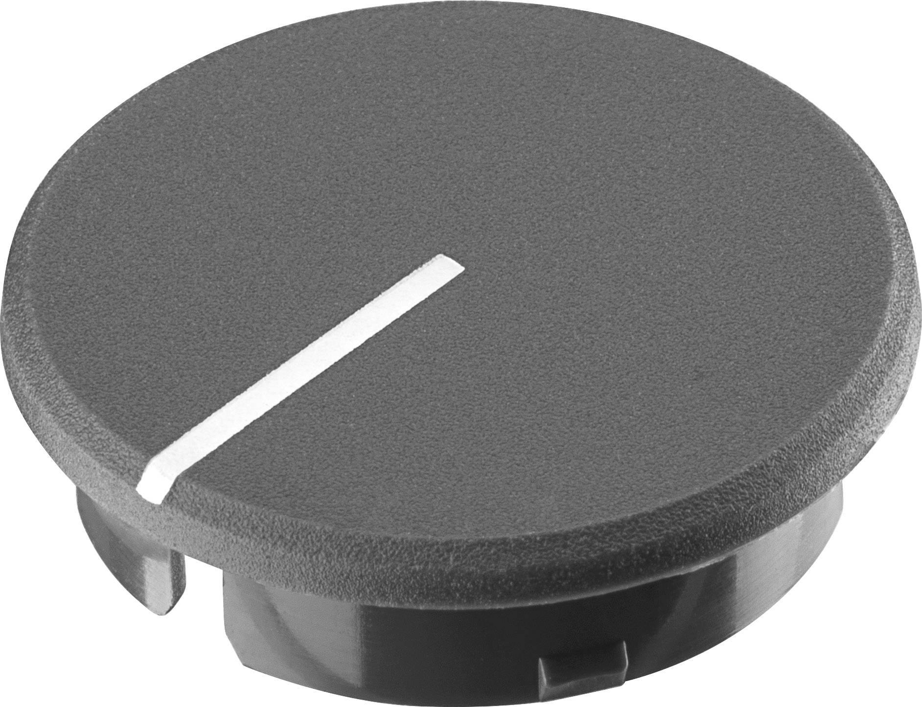 Krytka knoflíku s ukazatelem Ritel 30 28 11 2 21.6 mm, šedá, 1 ks