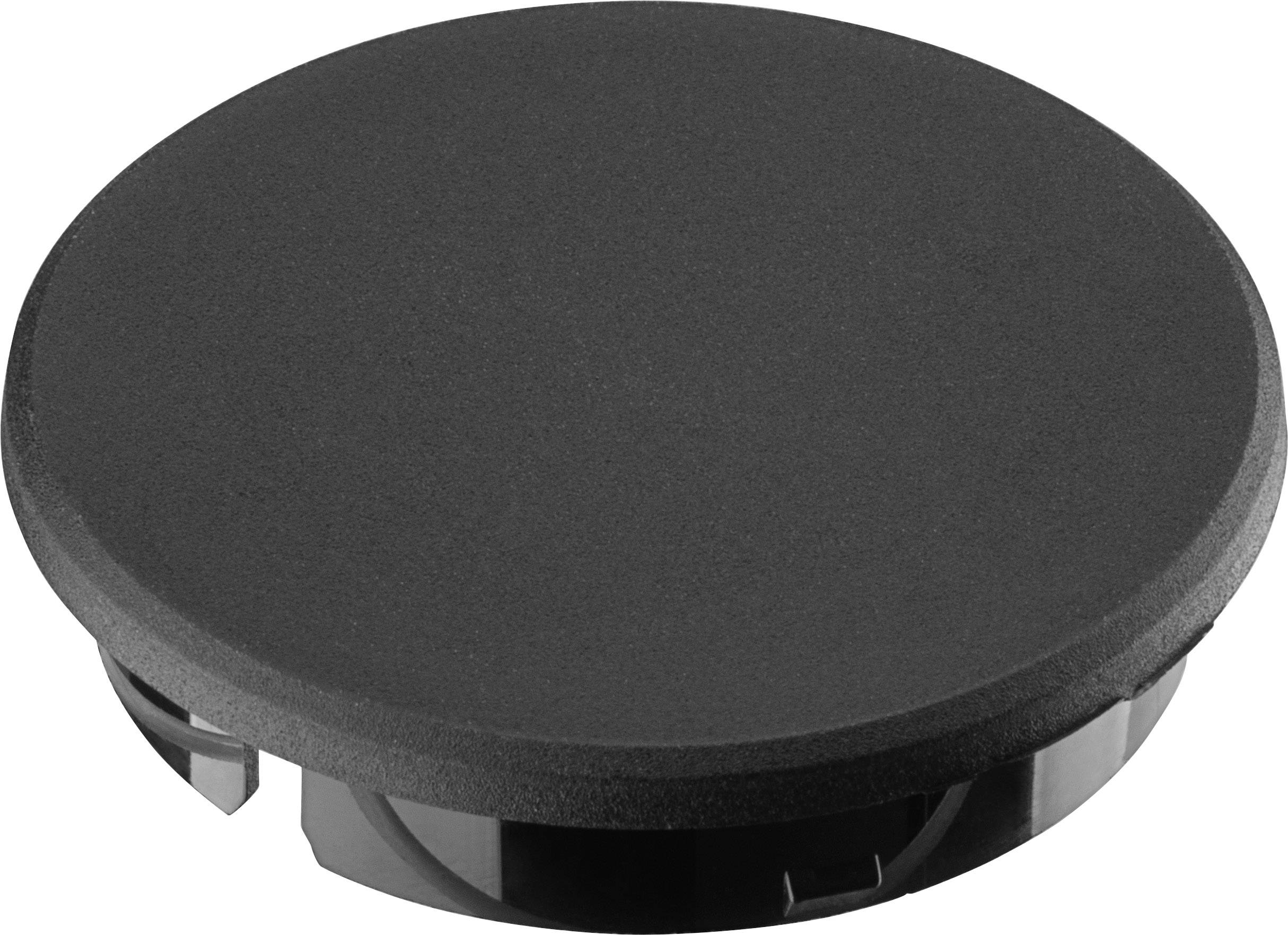 Krytka knoflíku Ritel 30 36 10 3 28.3 mm, černá, 1 ks