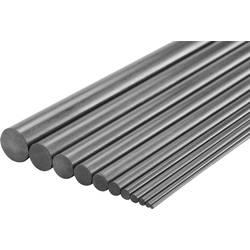 Tyčový profil Reely 1416544, (Ø x d) 7 mm x 1000 mm, karbon