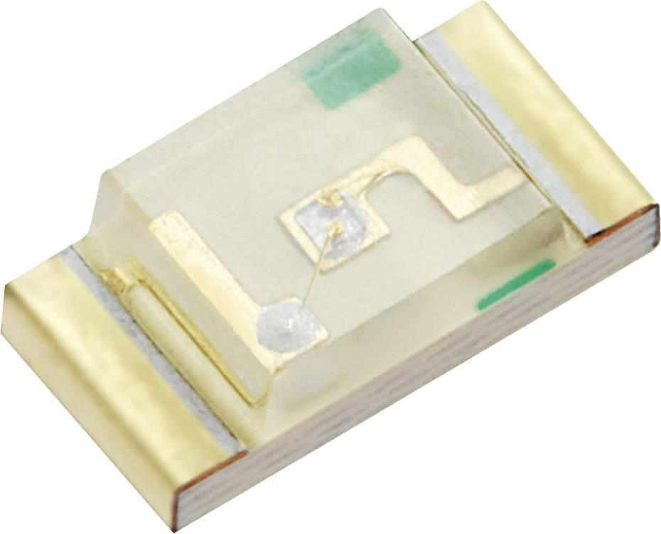 SMD LED QT, QTLP650C2, 20 mA, 2 V, 140 °, 6 mcd, červená
