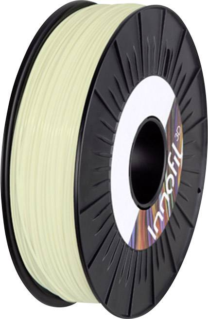 Vlákno pre 3Dtlačiarne, Innofil 3D InnoGlow GLOW-0801A050, PLA plast , 1.75 mm, 500 g, prírodná