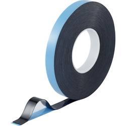 Oboustranná lepicí páska TOOLCRAFT 93038c186 93038c186, (d x š) 30 m x 20 mm, akryl, modročerná, 1 role