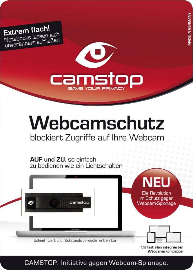 Bezpečnostný kryt na web kameru notebooku camstop Webcamsecurity