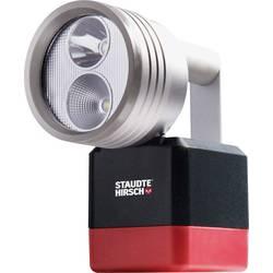 Ruční akumulátorová svítilna Staudte-Hirsch 552000, N/A, černá, červená, stříbrná