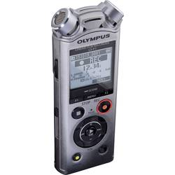 Přenosný audio rekordér Olympus LS-P1, stříbrná