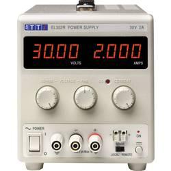 Laboratorní zdroj s nastavitelným napětím Aim TTi EL302R, 0 - 30 V/DC, 0 - 2 A, 60 W, Počet výstupů: 1 x