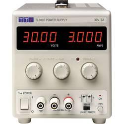 Laboratorní zdroj s nastavitelným napětím Aim TTi EL303R, 0 - 30 V/DC, 0 - 3 A, 90 W, Počet výstupů: 1 x