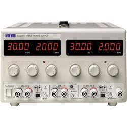 Laboratorní zdroj s nastavitelným napětím Aim TTi EL302RD, 0 - 30 V/DC, 0 - 2 A, 120 W, Počet výstupů: 2 x