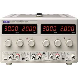 Laboratorní zdroj s nastavitelným napětím Aim TTi EL302RT, 0 - 30 V/DC, 0 - 2 A, 130 W, Počet výstupů: 3 x