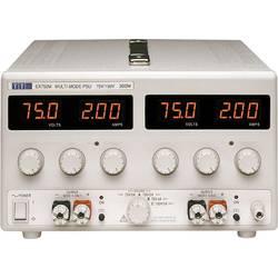 Laboratorní zdroj s nastavitelným napětím Aim TTi EX752M, 0 - 150 V/DC, 0 - 2 A, 300 W, Počet výstupů: 2 x