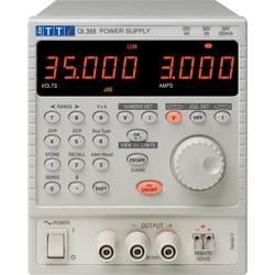 Laboratorní zdroj s nastavitelným napětím Aim TTi QL355 SII, 0 - 35 V/DC, 0 - 5 A, 105 W, Počet výstupů: 1 x