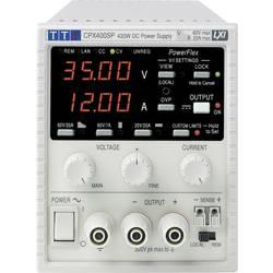 Laboratorní zdroj s nastavitelným napětím Aim TTi CPX400S, 0 - 60 V/DC, 0 - 20 A, 420 W, Počet výstupů: 1 x