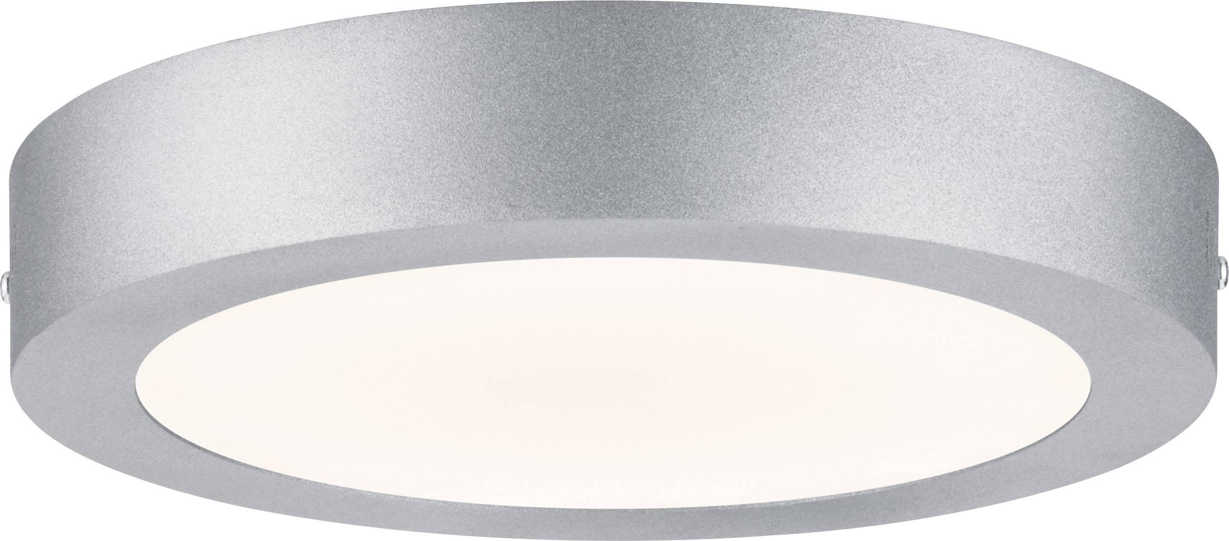 LED panel Paulmann Lunar 70654, 15.5 W, teplá biela, chróm (matný)