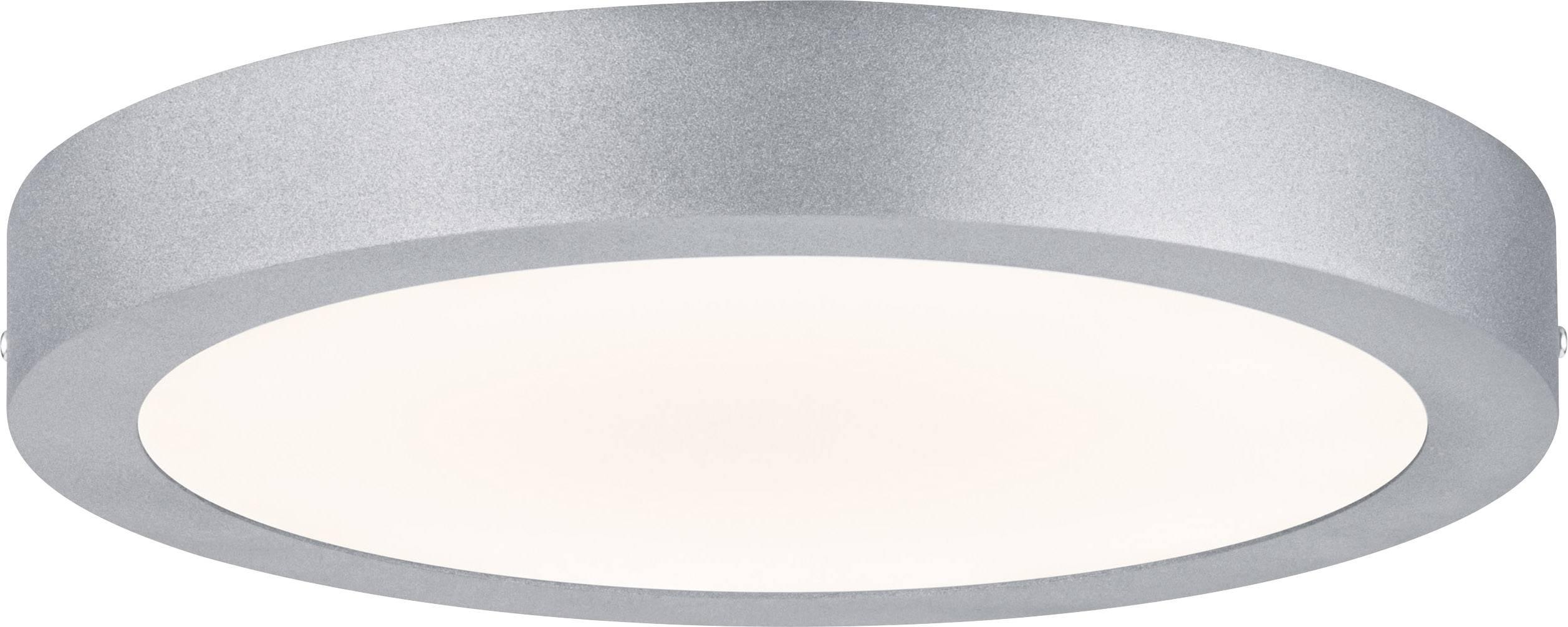 LED panel Paulmann Lunar 706.55, 17 W, teplá biela, chróm (matný)