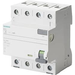 Proudový chránič Siemens 5SV3344-6KL, 40 A 0.03 A 400 V 4pólový