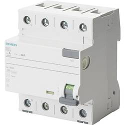 Proudový chránič Siemens 5SV3347-6KL, 80 A 0.03 A 400 V 4pólový