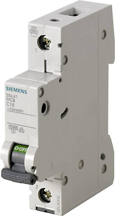 Elektrický jistič Siemens 5SL4120-8, 1pólový, 20 A, 230 V, 400 V