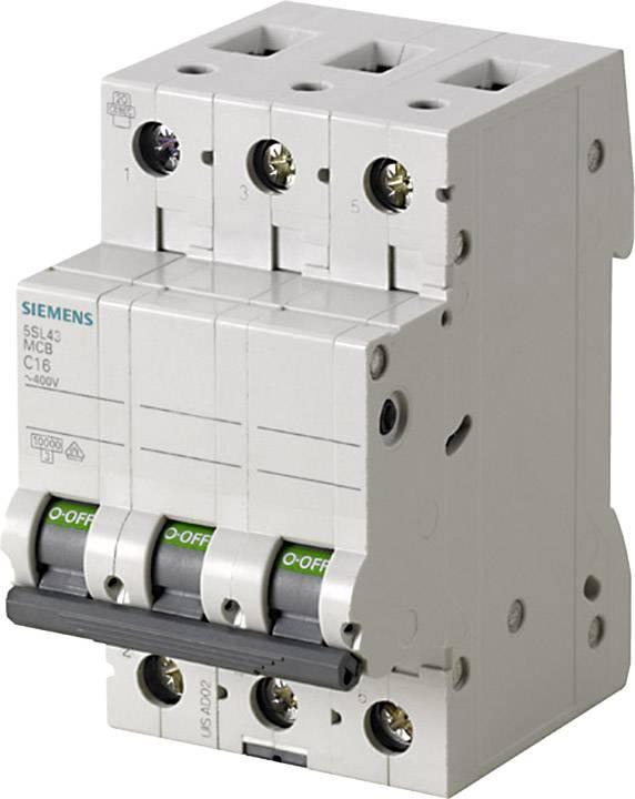 Elektrický jistič Siemens 5SL4325-6, 3pólový, 25 A, 400 V