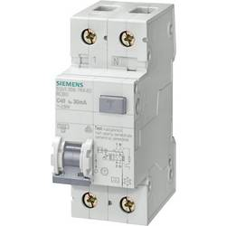 Proudový chránič/elektrický jistič Siemens 5SU1356-7KK40, 2pólový, 40 A, 0.03 A, 230 V