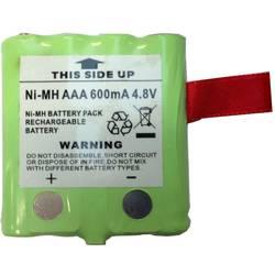 Náhradní akumulátor pro radiostanici DeTeWe 4.8 V 600 mAh