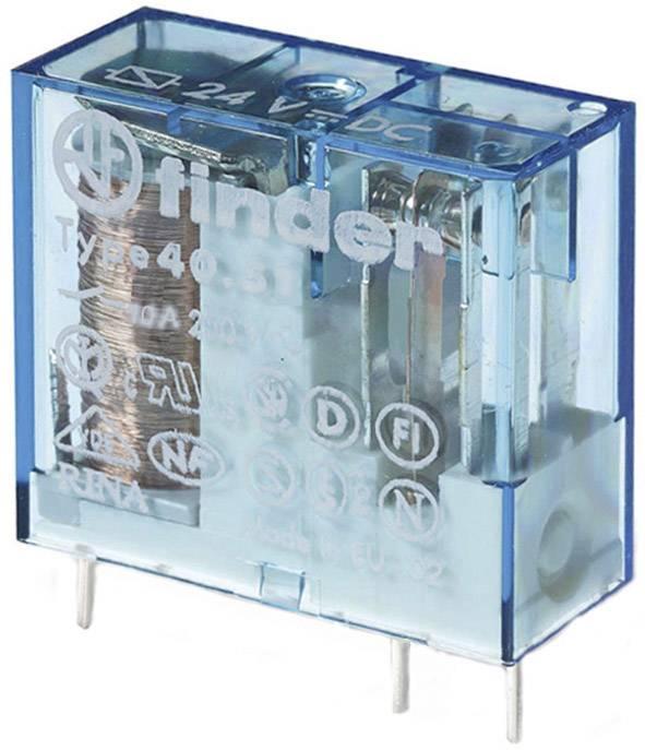 Relé do DPS Finder 24 V/DC, 12 A, 1 prepínací, 1 ks