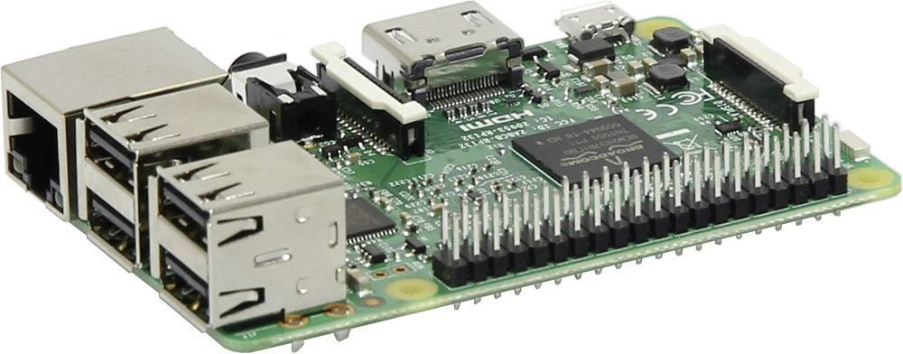 Mini počítač Raspberry Pi® 3 Model B 1 GB bez OS