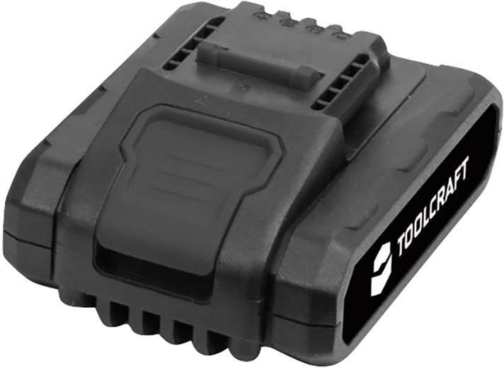 Náhradný akumulátor pre aku vŕtací skrutkovač TOOLCRAFT DD 14.4 V, TOOLCRAFT 1420595, 14.4 V, 1.5 Ah